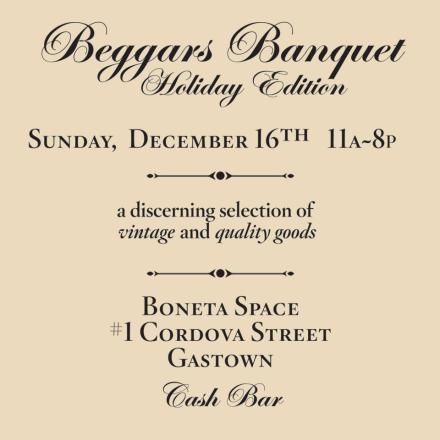 Beggar's Banquet - Holiday Edition