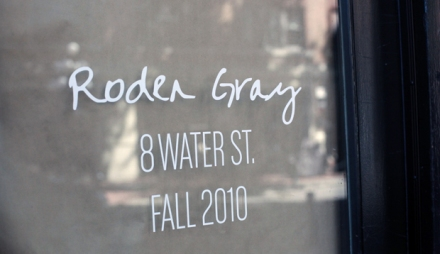 Roden Gray Signage