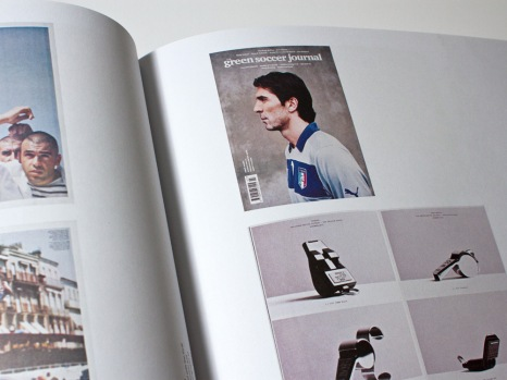 The Modern Magazine green soccer journal
